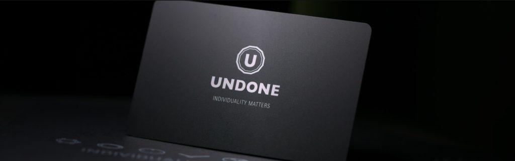 UNDONE ギフトカード