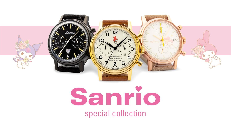 サンリオ UNDONE アンダーン COLLABORATION 腕時計 sanrio UNDONE watch