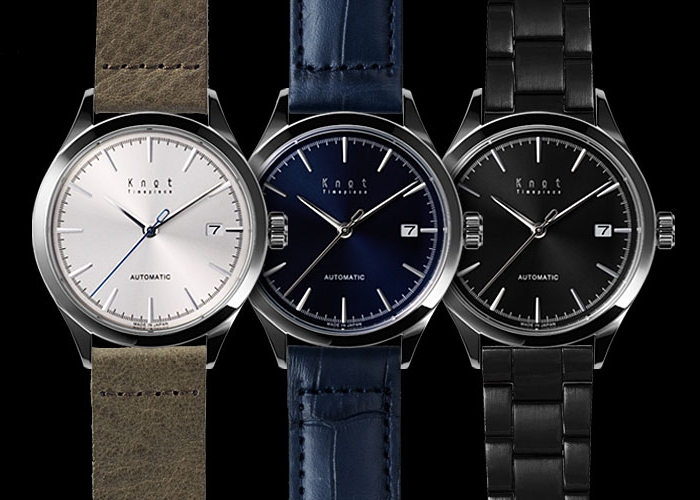 knot 国産機械式時計