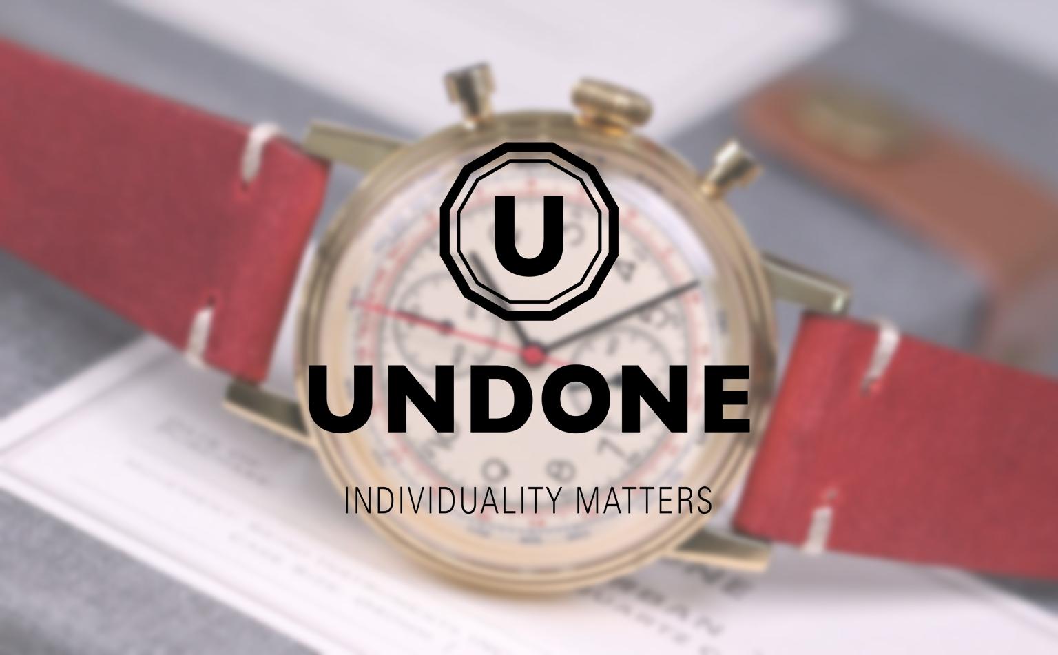 UNDONE レディース腕時計