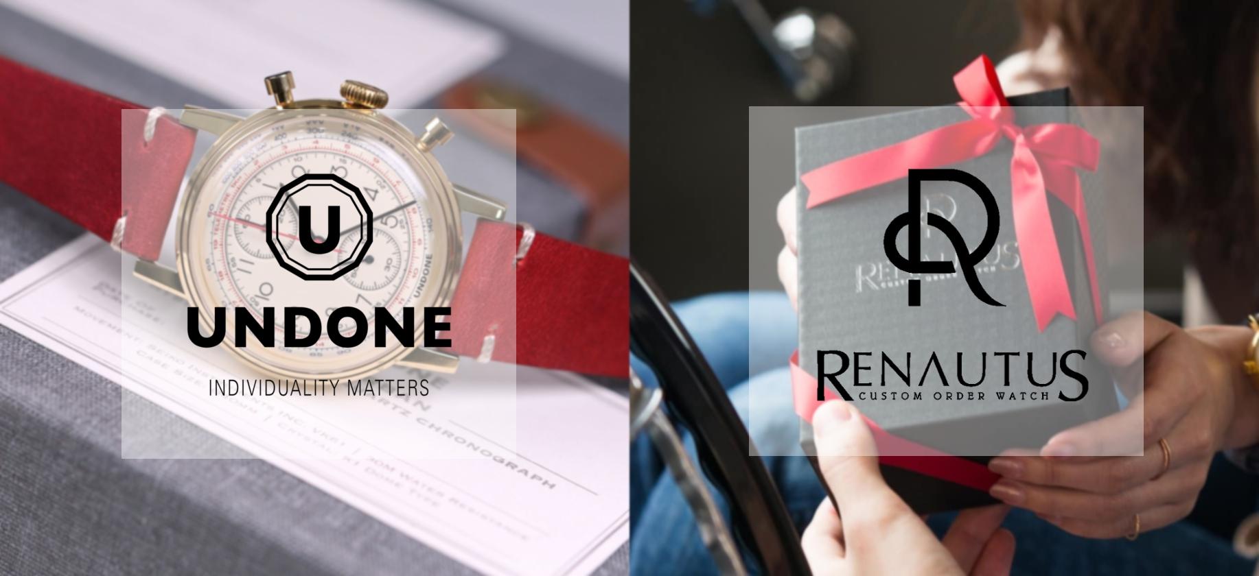 UNDONE RENATUS 比較ロゴ2