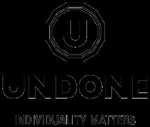 UNDONE ロゴ ブラック