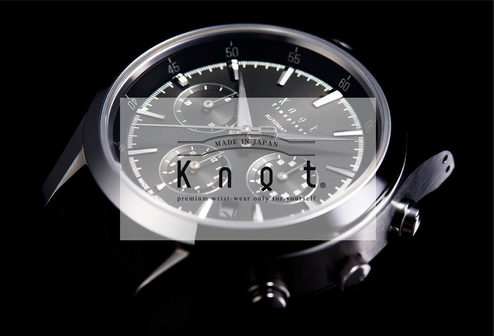 Knotノット腕時計 メンズモデル機械式