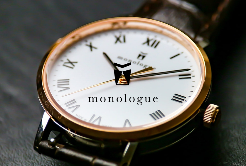 monologueモノローグ カスタム腕時計