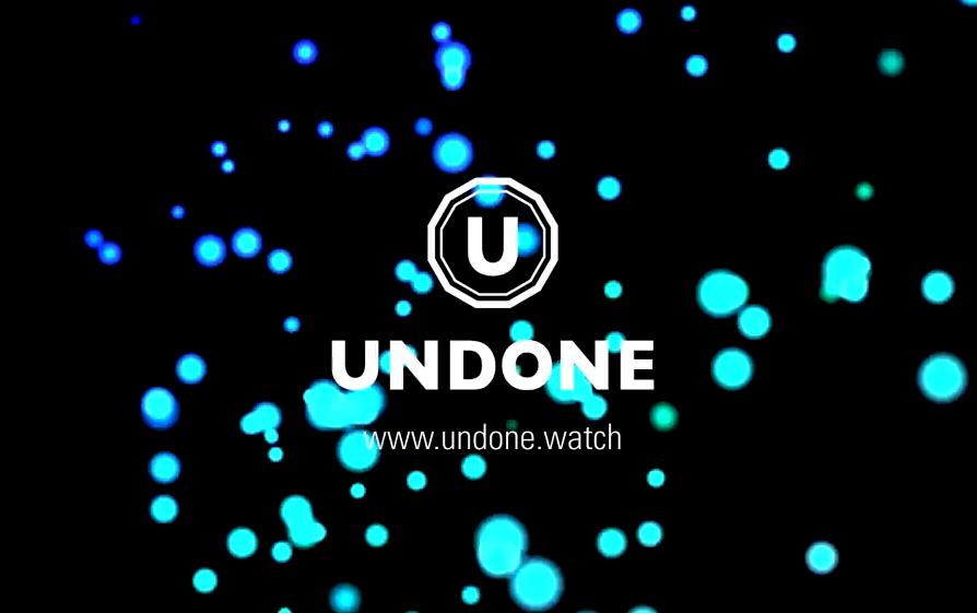 UNDONE(アンダーン)腕時計 ロゴ
