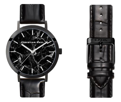 クリスチャンポール メンズ腕時計 マーブル