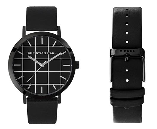 クリスチャンポール メンズ腕時計 グリッド