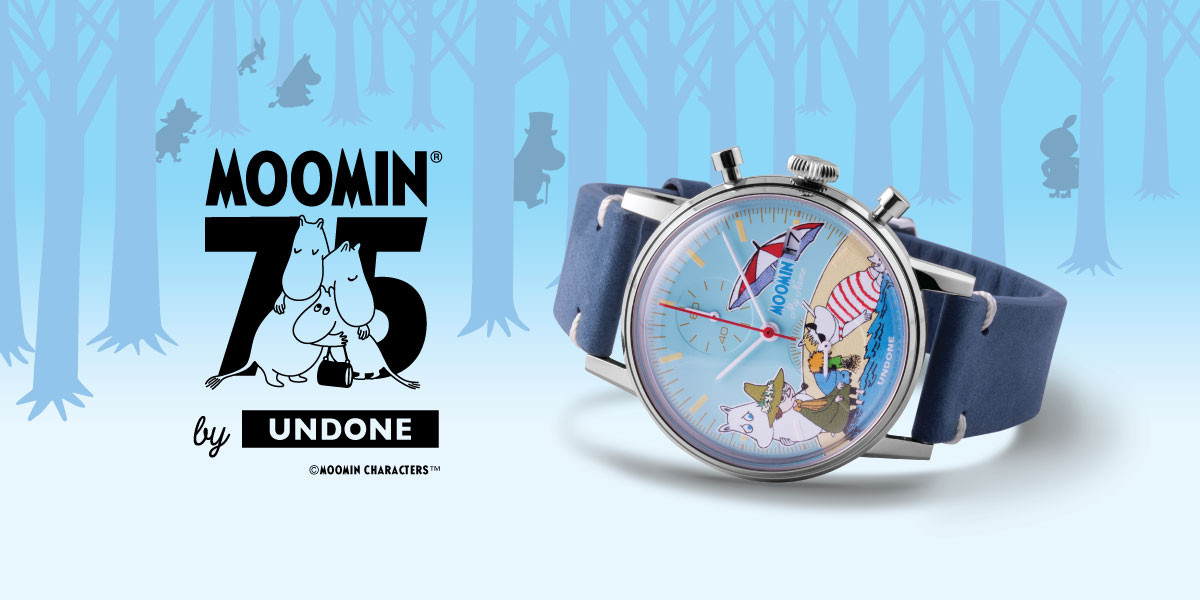 UNDONE ムーミンコラボ 腕時計
