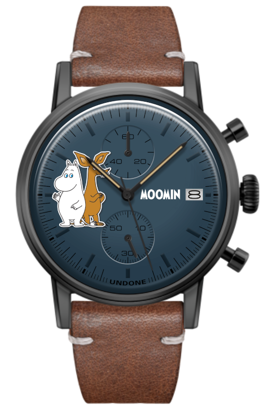 UNDONE X ムーミン 'Moomintroll & Sniff'