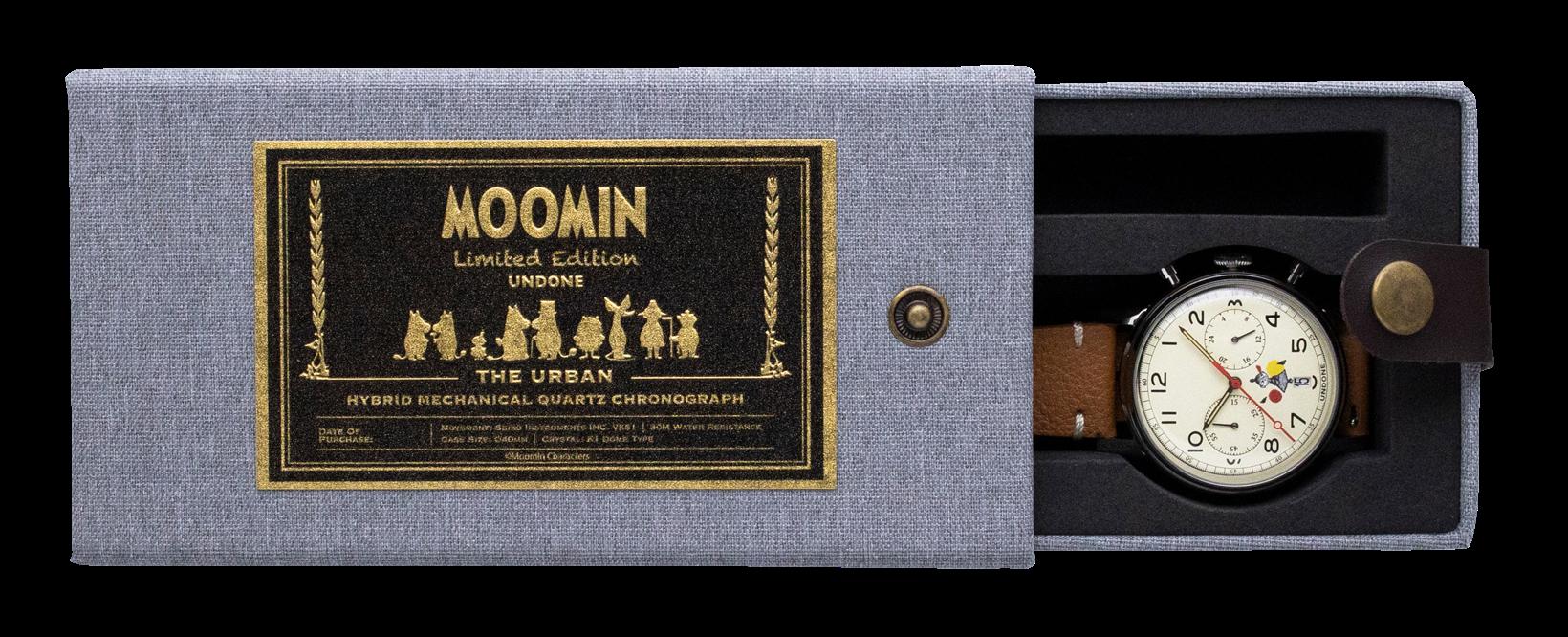 UNDONE ムーミン オリジナルラベル付き特別BOX