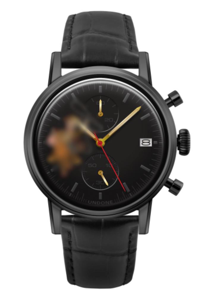 トイストーリー UNDONE カスタマイズ腕時計 ブラック