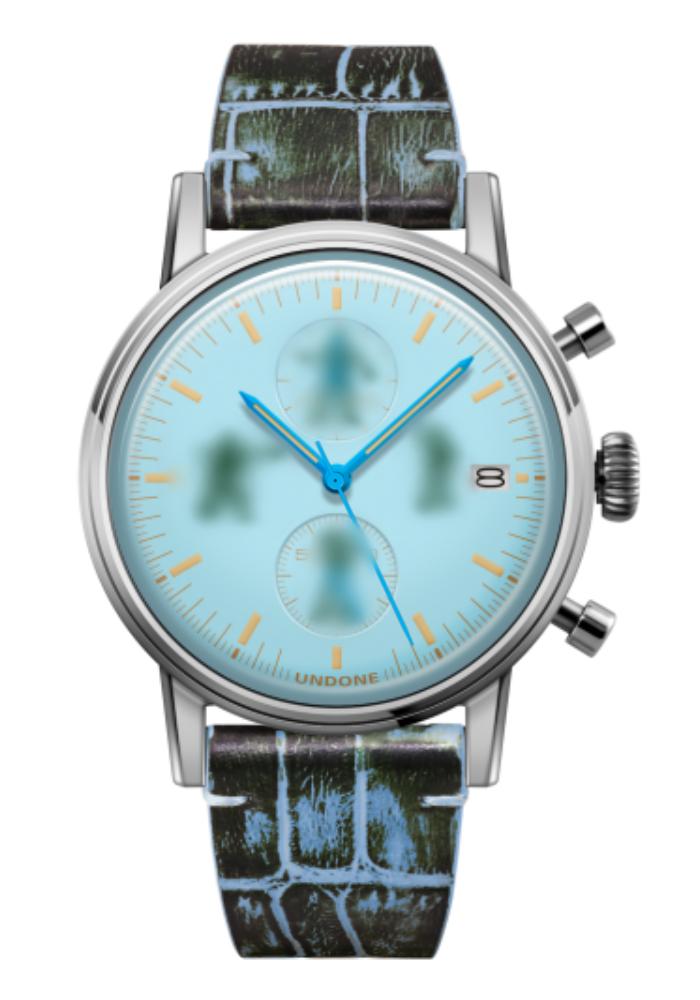 トイストーリー UNDONE カスタマイズ腕時計 スカイブルー
