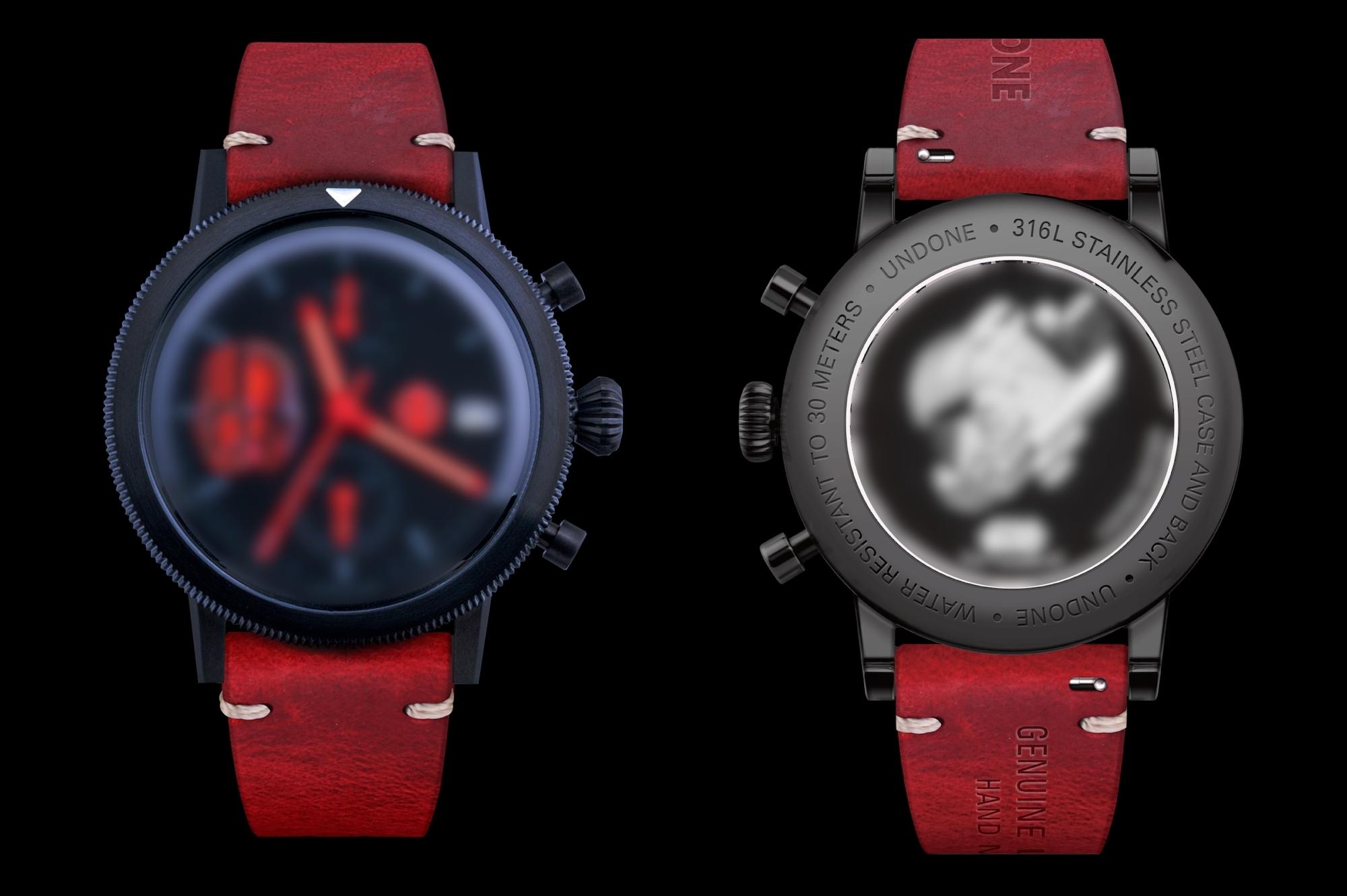 SITH TROOPER Exclusive Model UNDONEコラボ腕時計