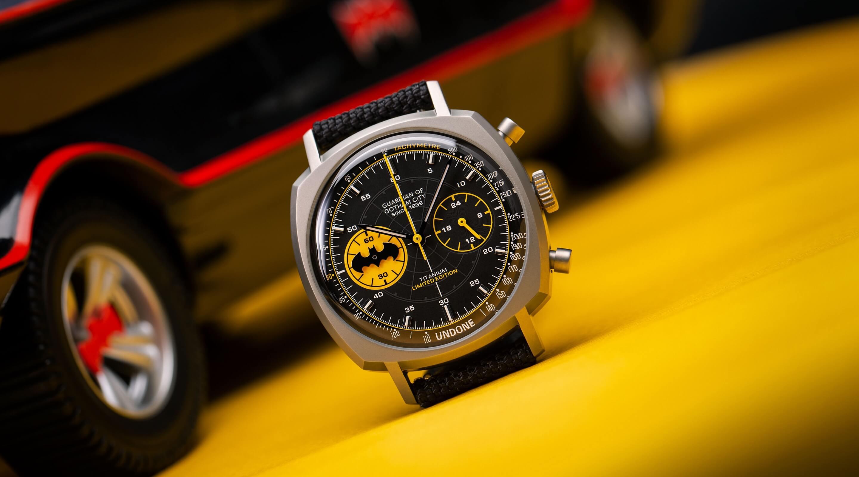 UNDONE バットマン コラボ腕時計 crusader-slider-d