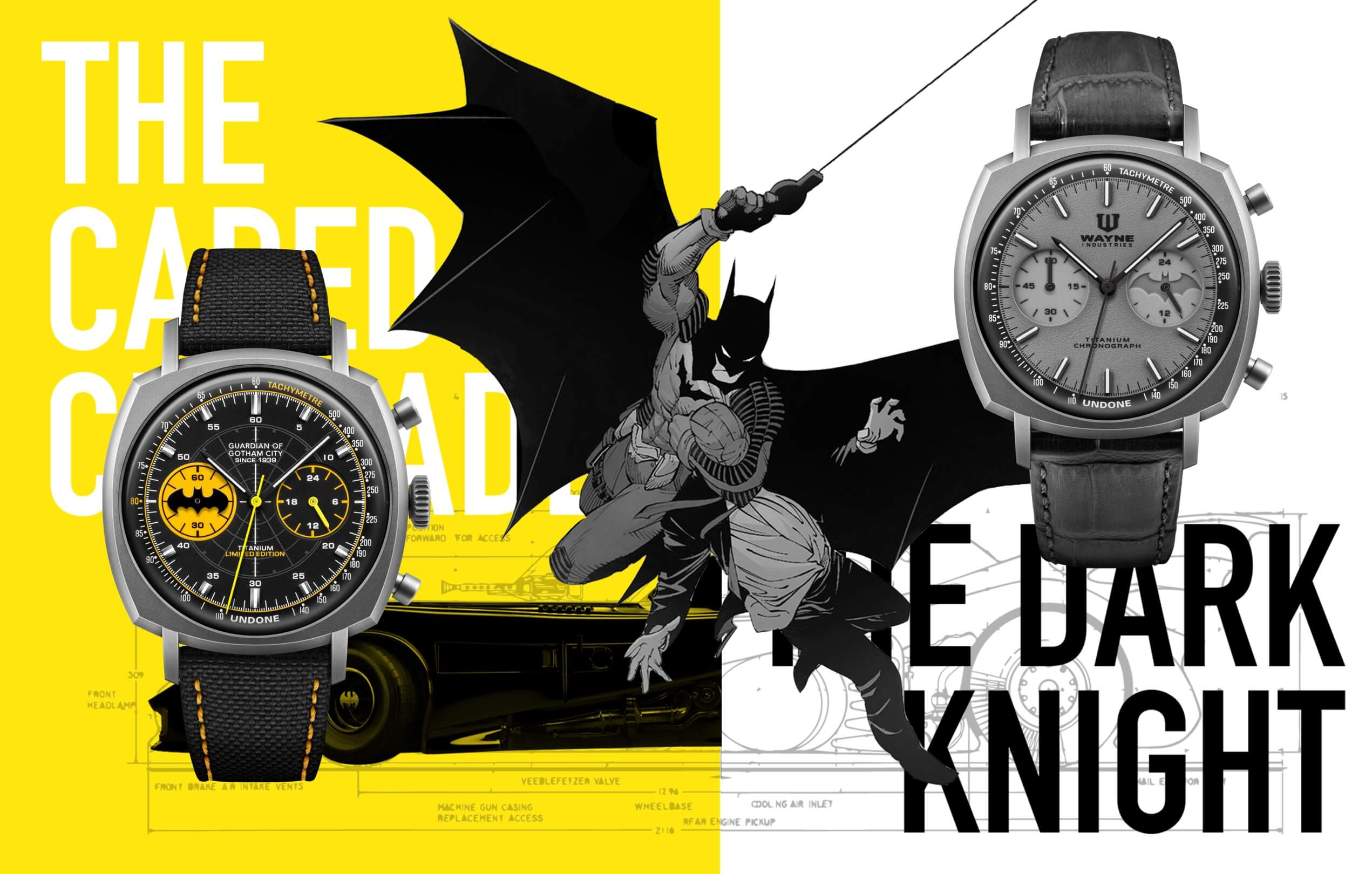 アンダーン バットマン コラボ腕時計