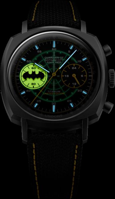 UNDONE バットマンwatch-crusader crusader-hero-e-lume