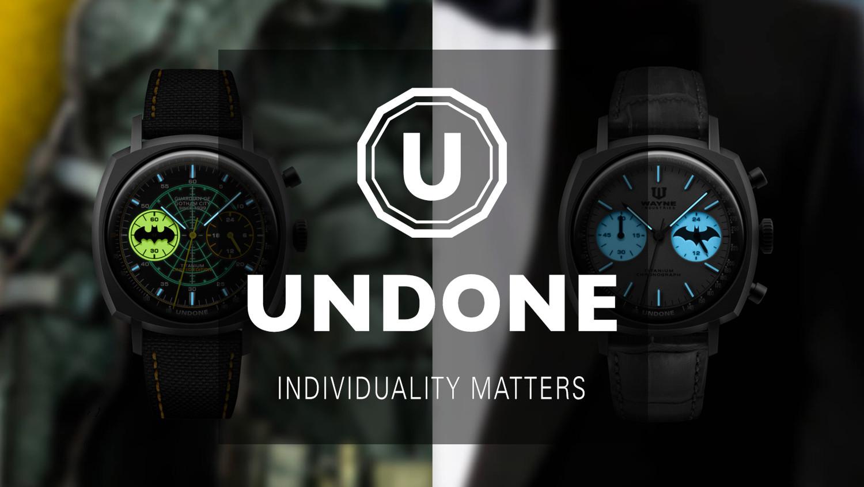 UNDONE バットマン 限定コラボ腕時計