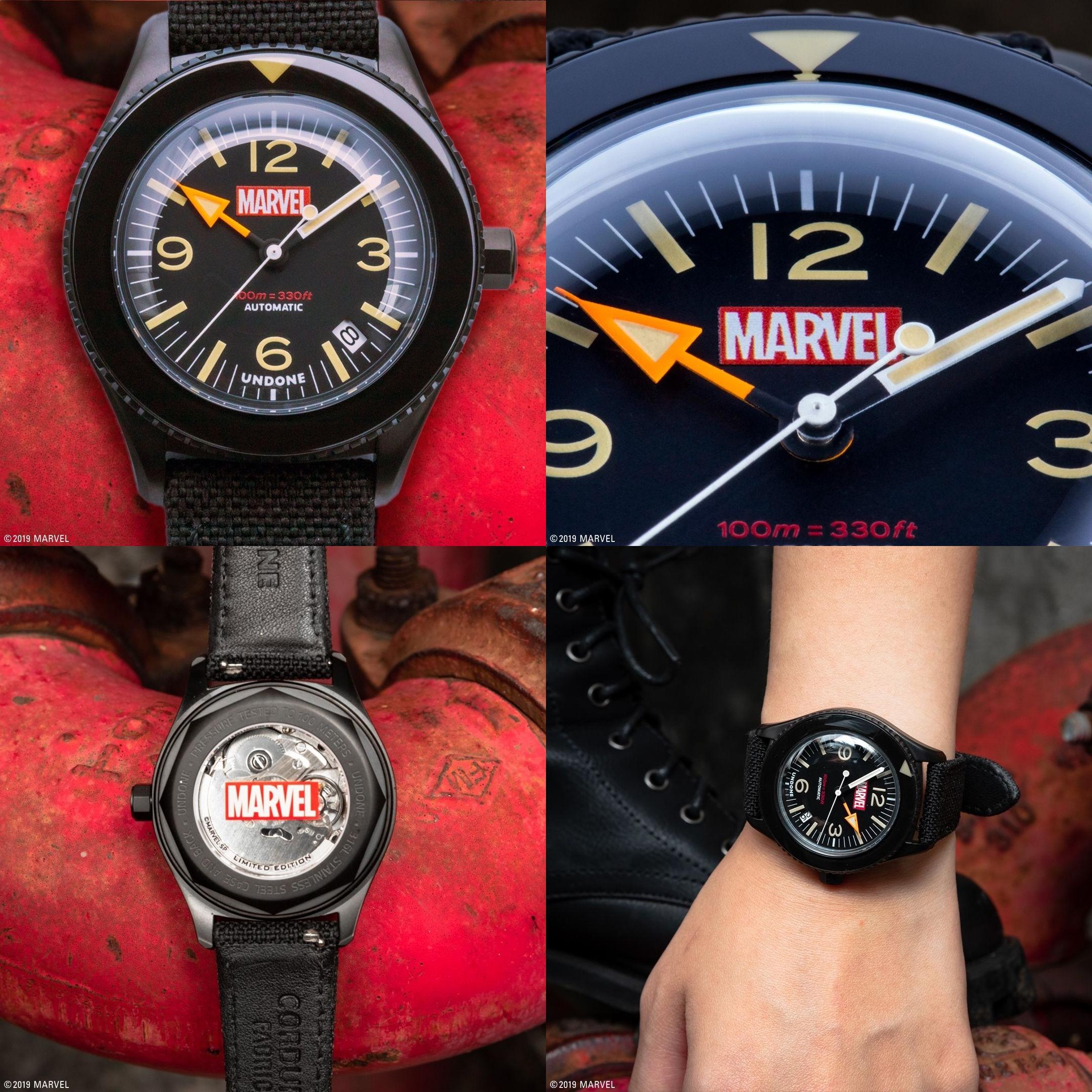 UNDONE マーベル 限定コラボ腕時計 マーベル