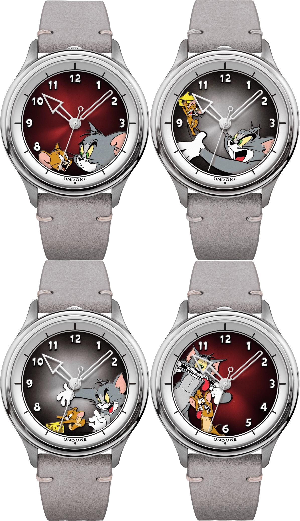 アンダーン UNDONE x Tom and Jerry Custom キャラクターデザイン