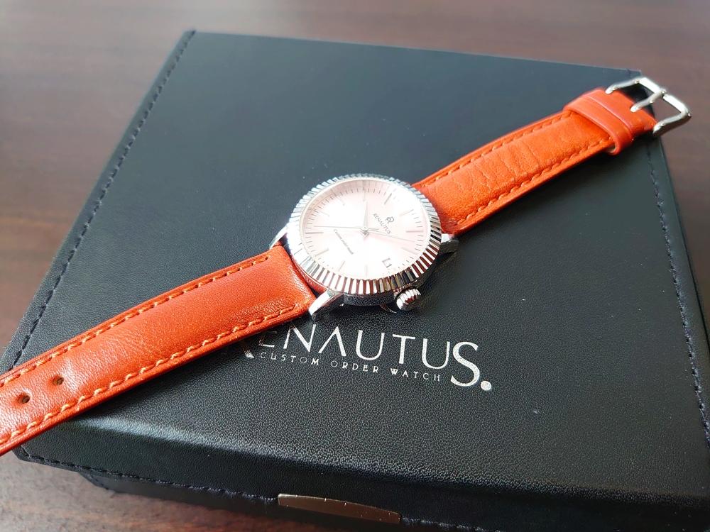 RENAUTUS ルノータス(クラシッククォーツ34mm)腕時計1