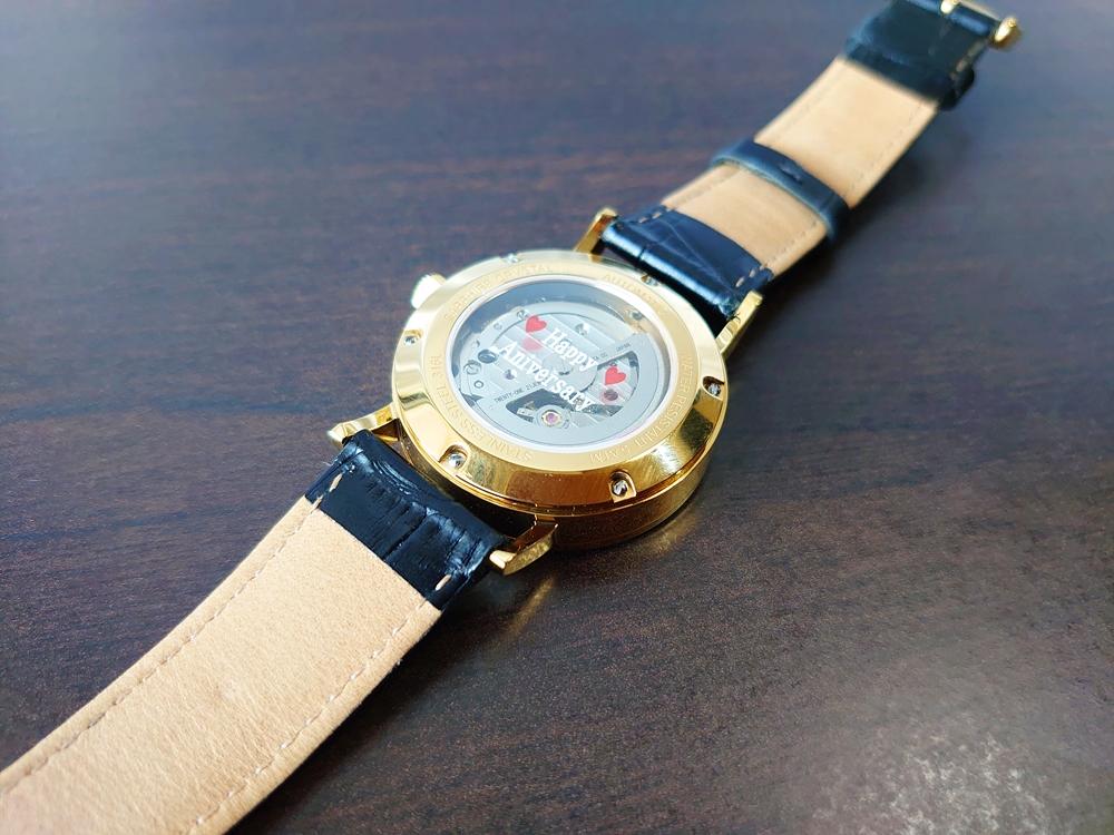 ルノータス 腕時計バックケース ガラスケースプリント