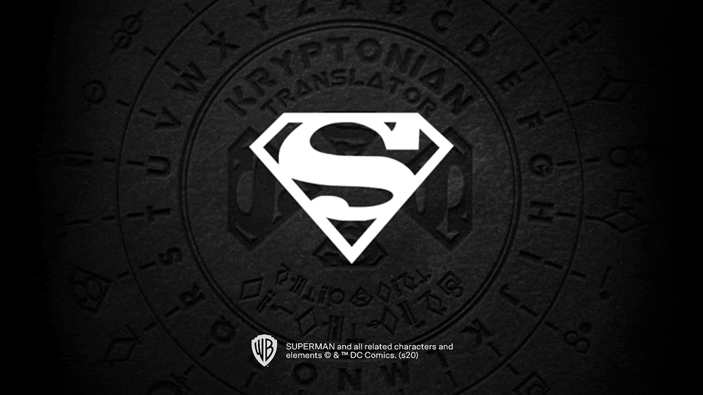 SUPERMAN スーパーマン logo ロゴ
