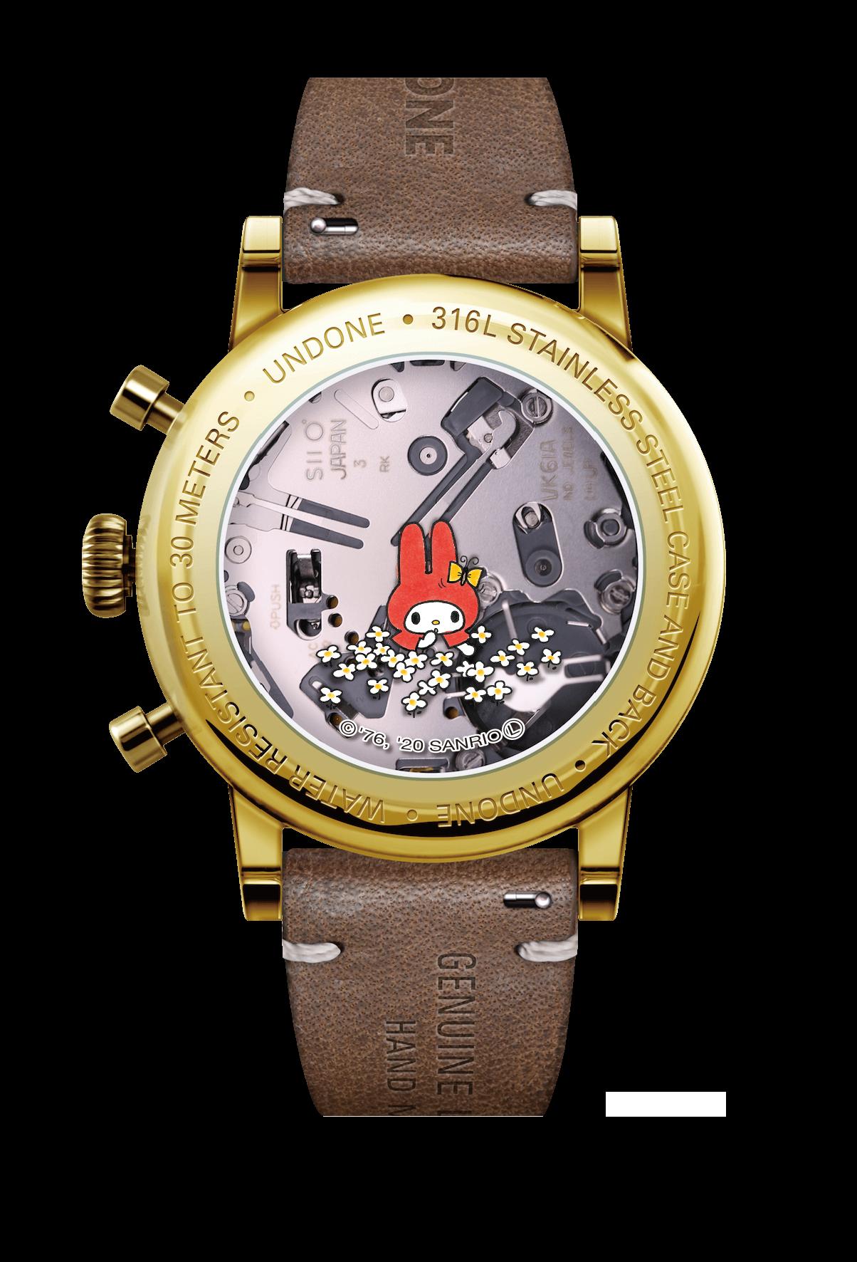 UNDONE サンリオ 腕時計 オリジナルマイメロディoriginal_mymelody_back