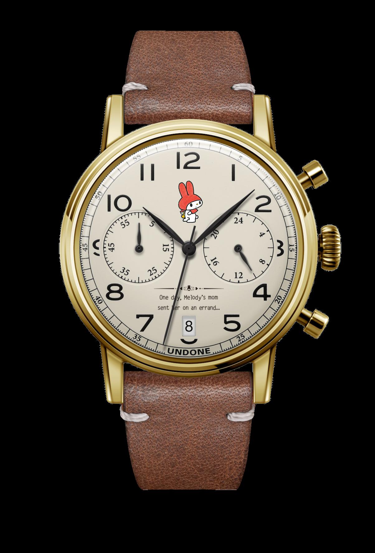 UNDONE サンリオ 腕時計 オリジナルマイメロディoriginal_mymelody_front