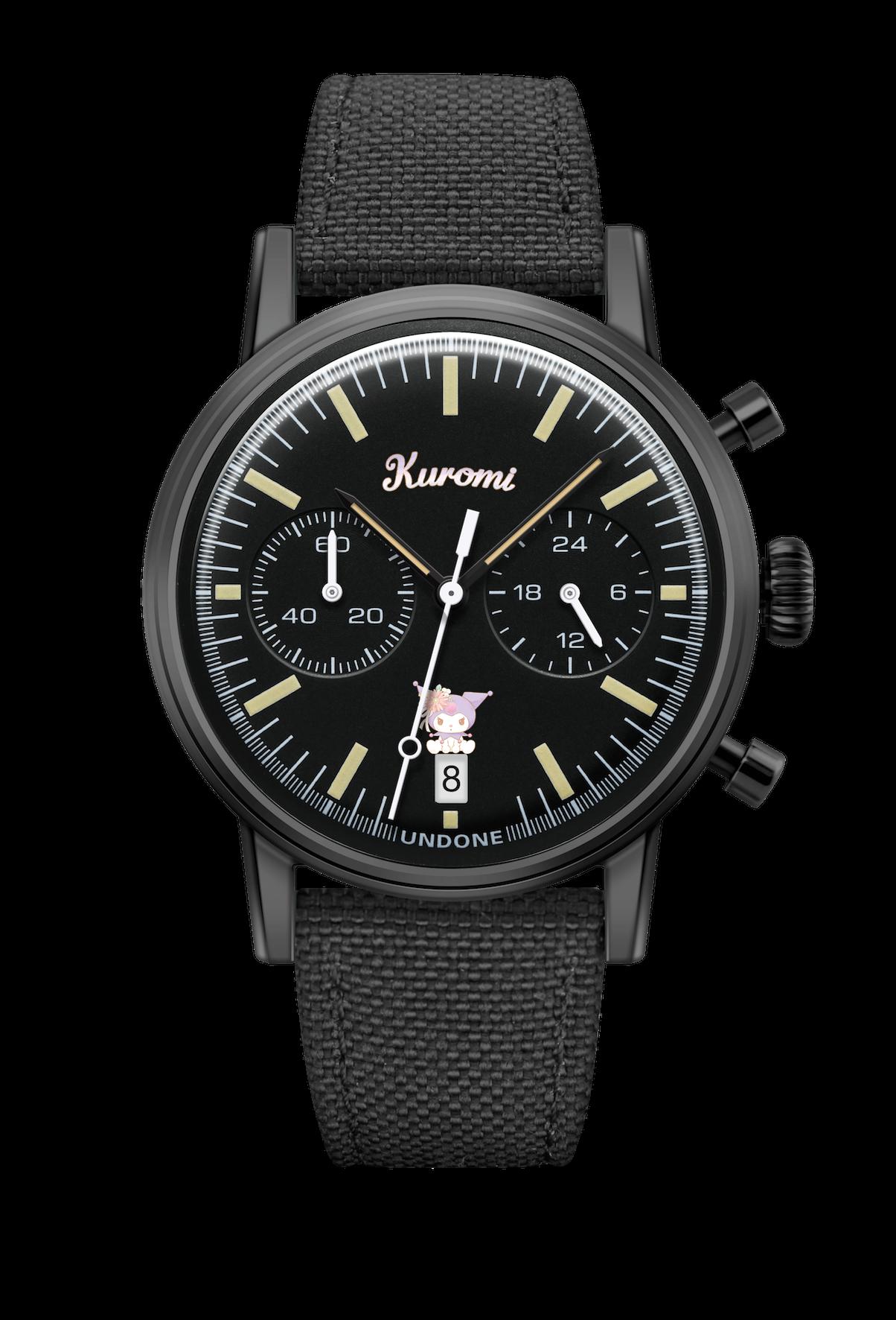 UNDONE サンリオ 腕時計 クロミkuromi_front